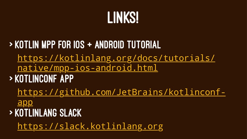 LINKS! > Kotlin MPP for iOS + Android tutorial ...