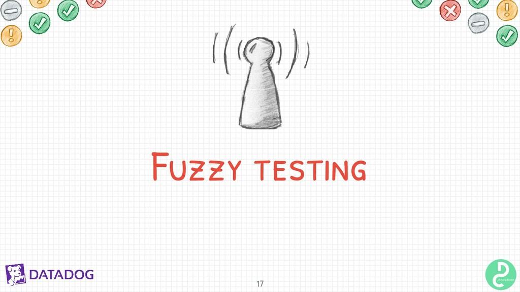 Fuzzy testing 17