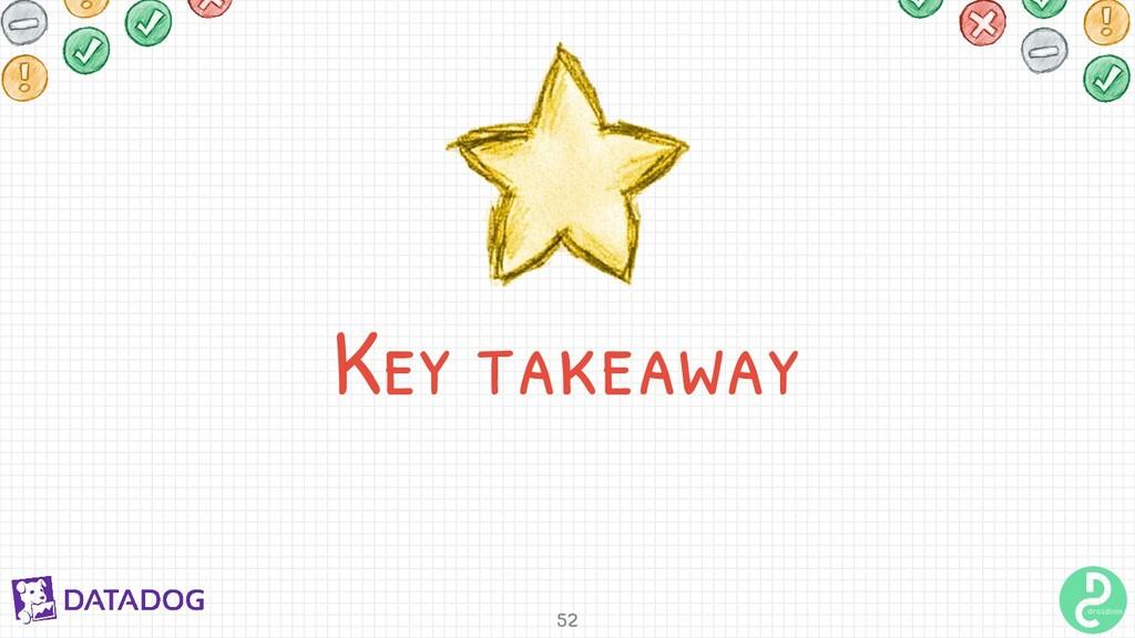Key takeaway 52