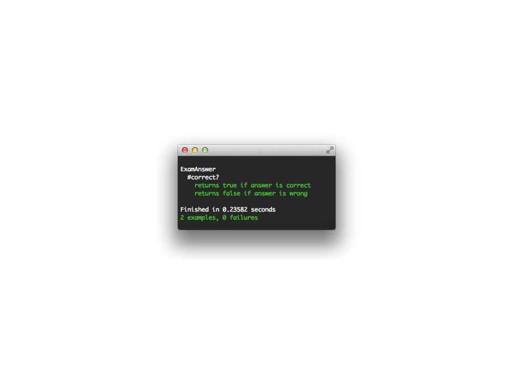 class ExamQuestion < ActiveRecord::Base def cor...