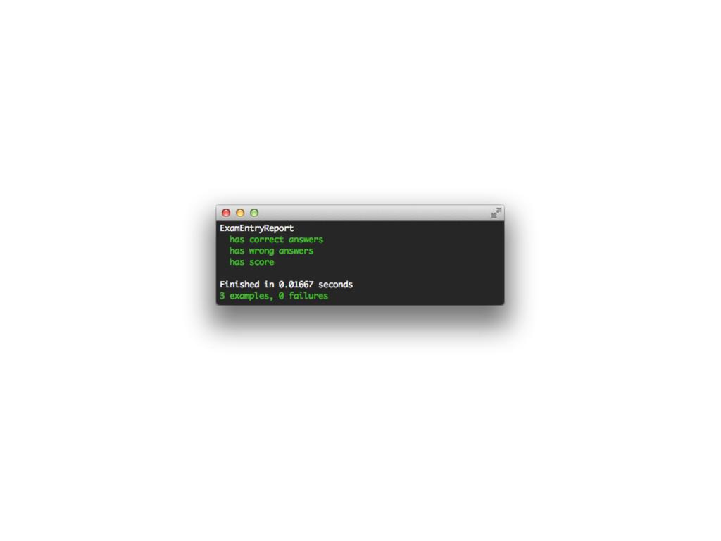 class ExamAnswer < ActiveRecord::Base def corre...