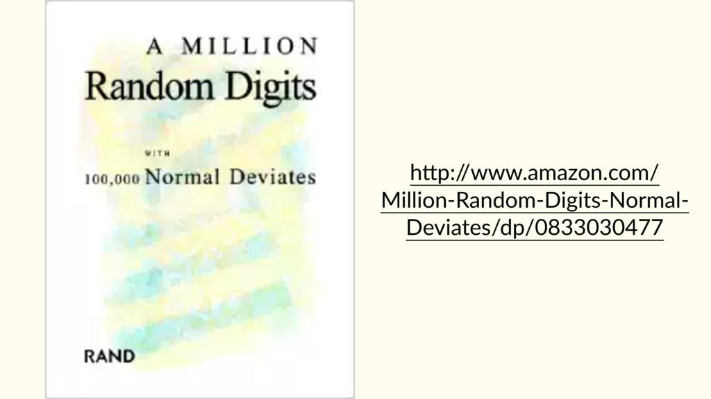 hAp:/ /www.amazon.com/ Million-Random-Digits-No...