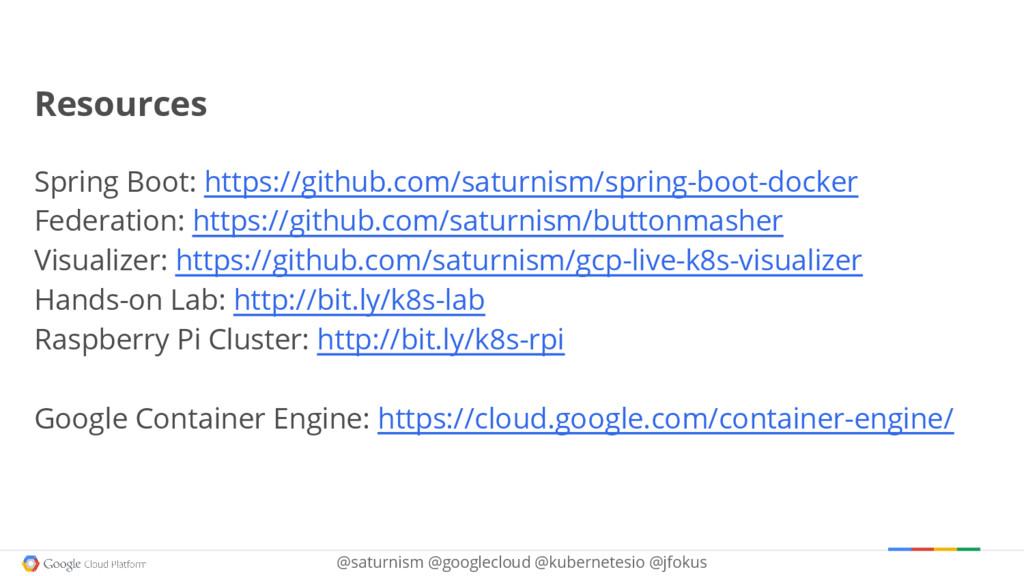@saturnism @googlecloud @kubernetesio @jfokus R...
