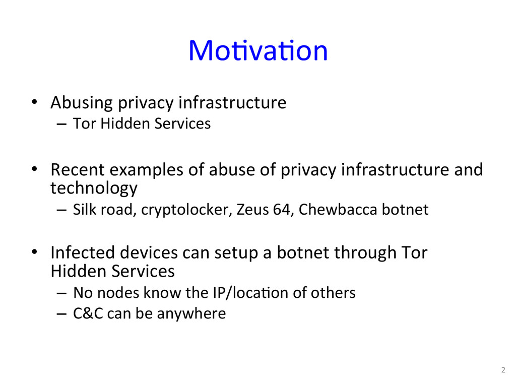 Mo0va0on  • Abusing privacy infrastru...