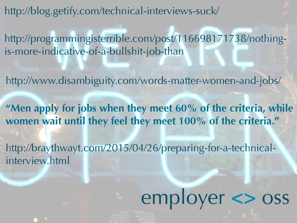 employer <> oss http://blog.getify.com/technica...