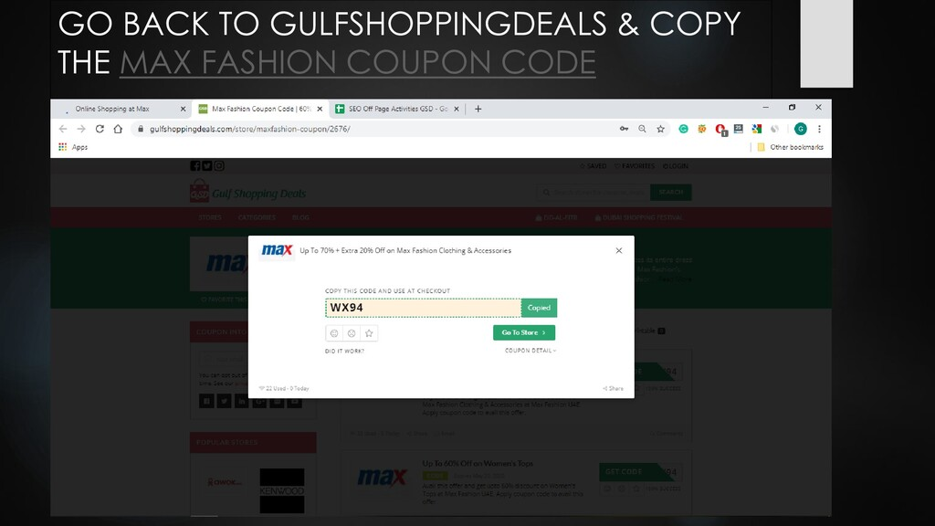 GO BACK TO GULFSHOPPINGDEALS & COPY THE MAX FAS...