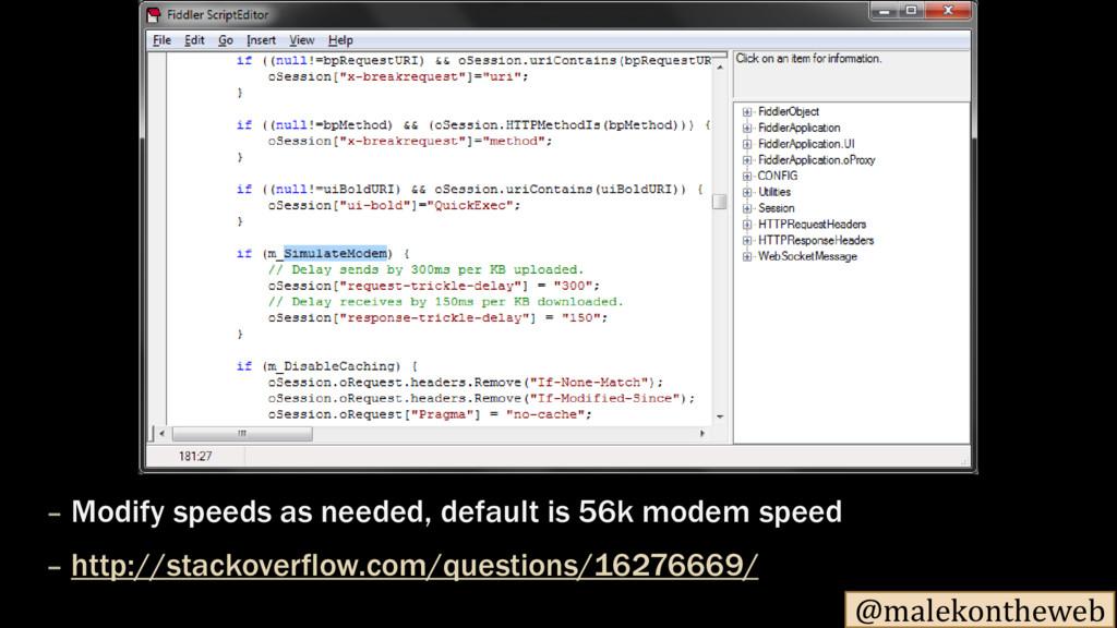 @malekontheweb – Modify speeds as needed, defau...