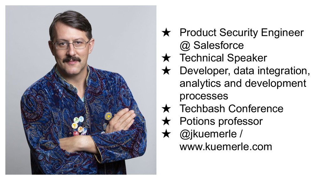 ★ Product Security Engineer @ Salesforce ★ Tech...