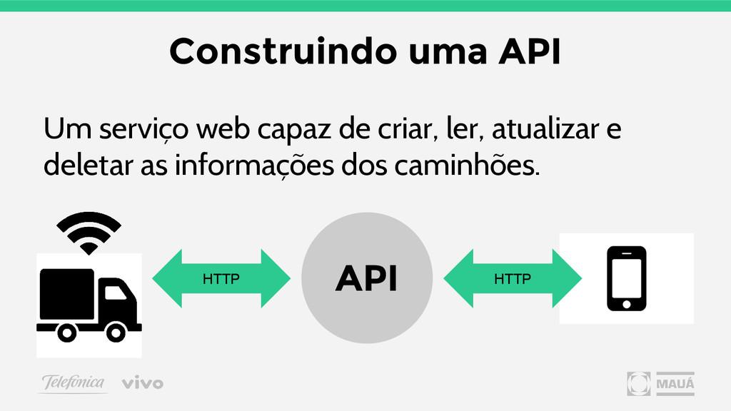 Um serviço web capaz de criar, ler, atualizar e...