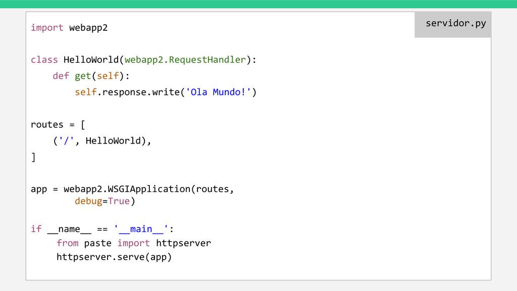 import webapp2 class HelloWorld(webapp2.Request...