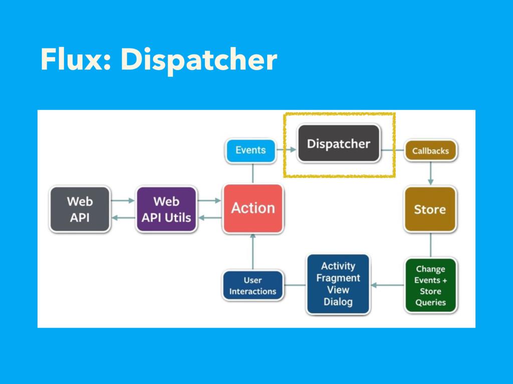 Flux: Dispatcher