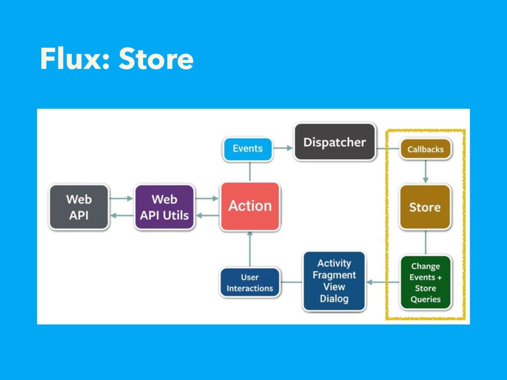 Flux: Store