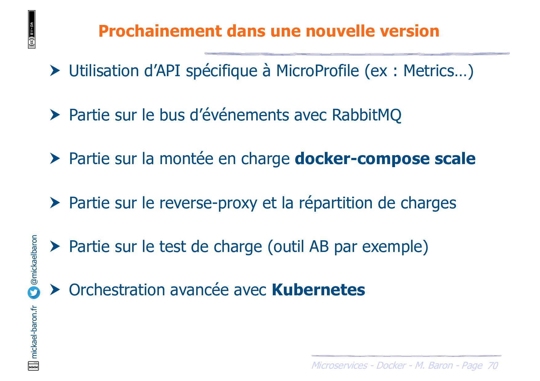 SOA - Microservices - Outils - M. Baron - Page ...