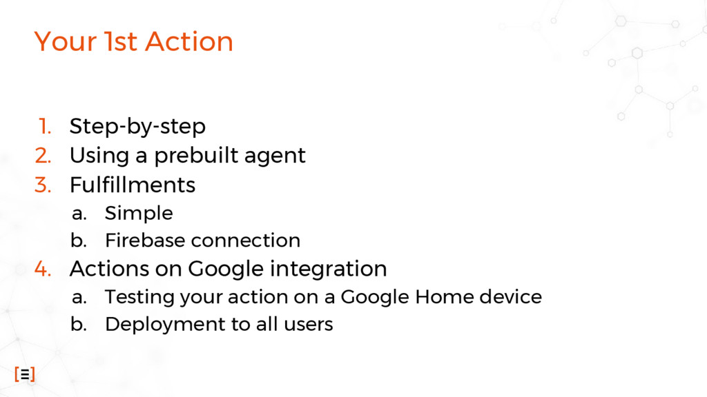 Your 1st Action 1. Step-by-step 2. Using a preb...