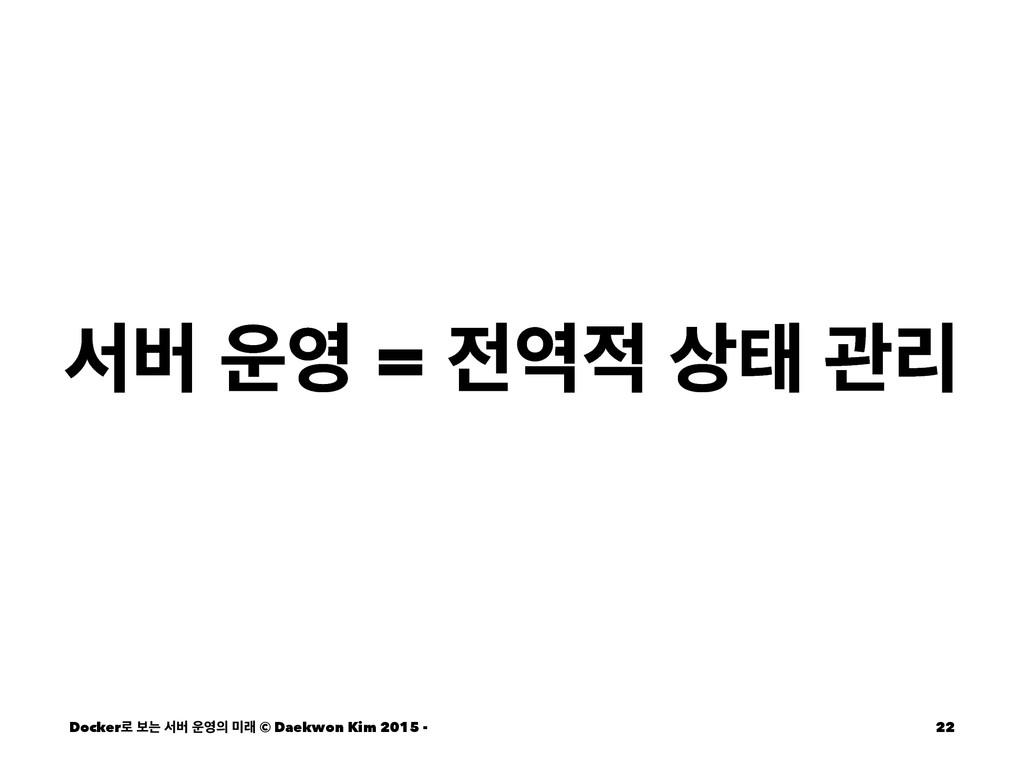 ࢲߡ  =  క ҙܻ Docker۽ ࠁח ࢲߡ  ې © Daekwo...