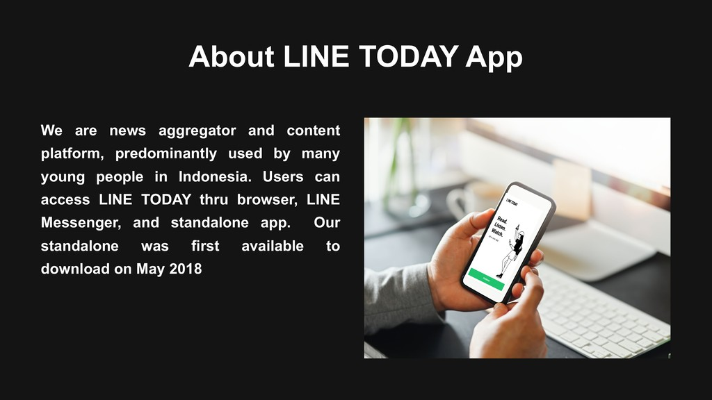 About LINE TODAY App We are news aggregator and...