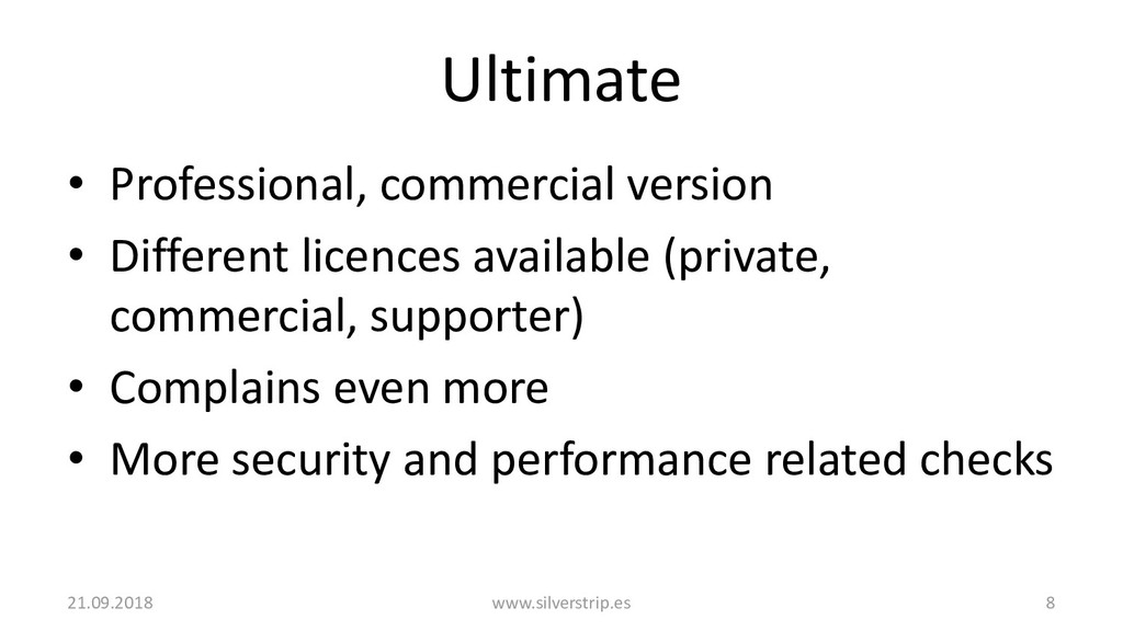 Ultimate • Professional, commercial version • D...