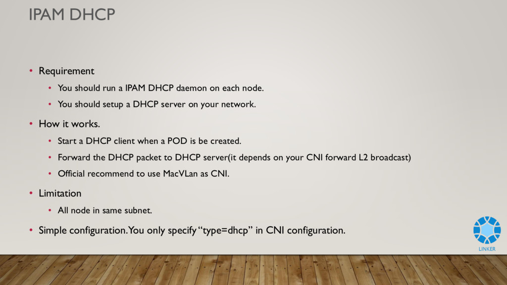 IPAM DHCP • Requirement • You should run a IPAM...