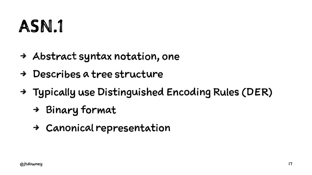 ASN.1 4 Abstract syntax notation, one 4 Describ...