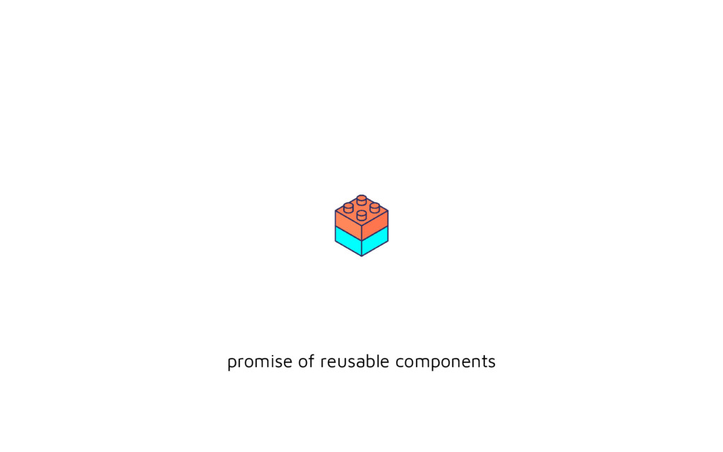 promise of reusable components
