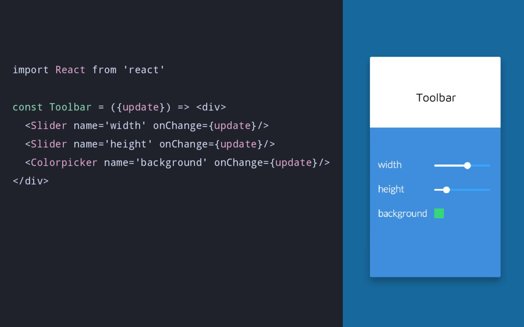 import React from 'react' const Toolbar = ({upd...