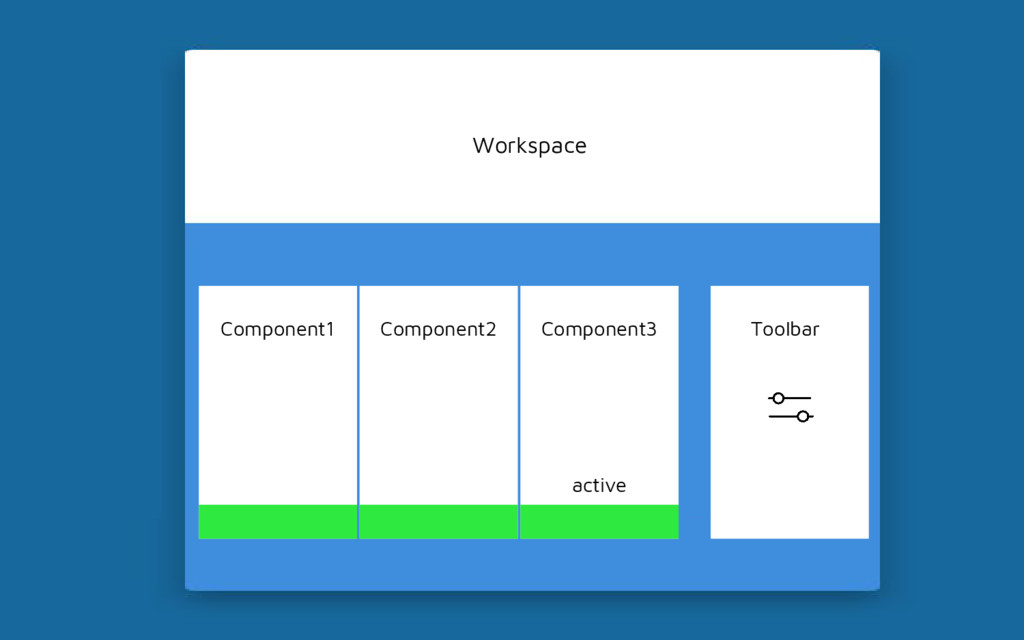 Workspace Component1 Toolbar Component2 Compone...