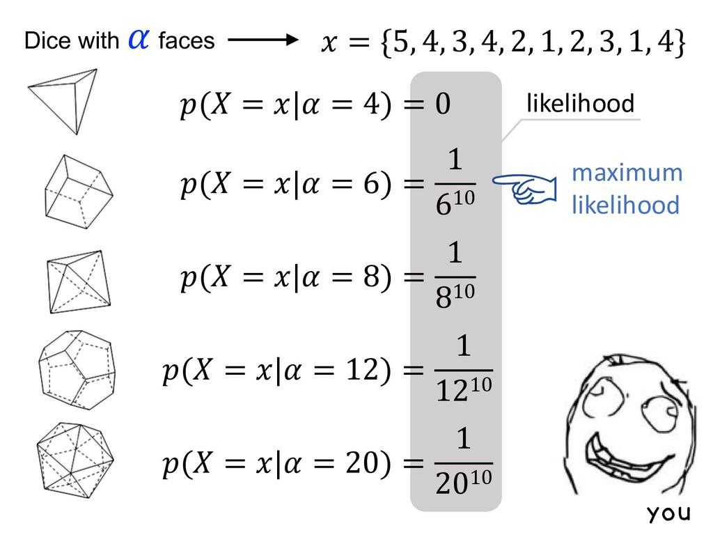 likelihood maximum likelihood you  = {5, 4, 3, ...