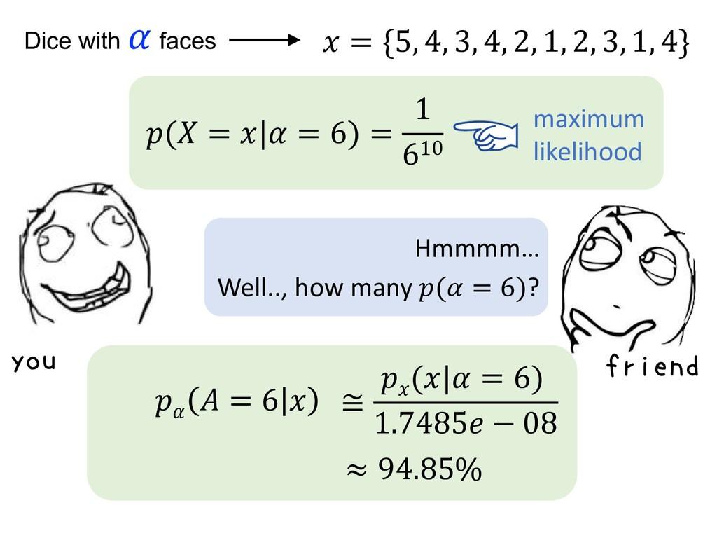 ( =   = 6) = 1 610 maximum likelihood you ≅  ( ...