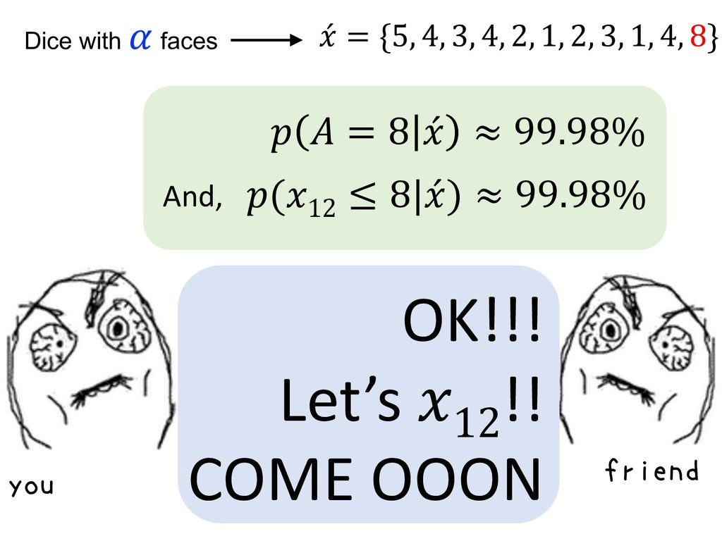 you OK!!! Let's 12 !! COME OOON friend (12 ≤ 8 ...