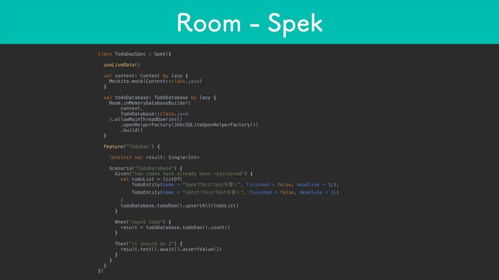 3PPN4QFL class TodoDaoSpec : Spek({ useLiveD...