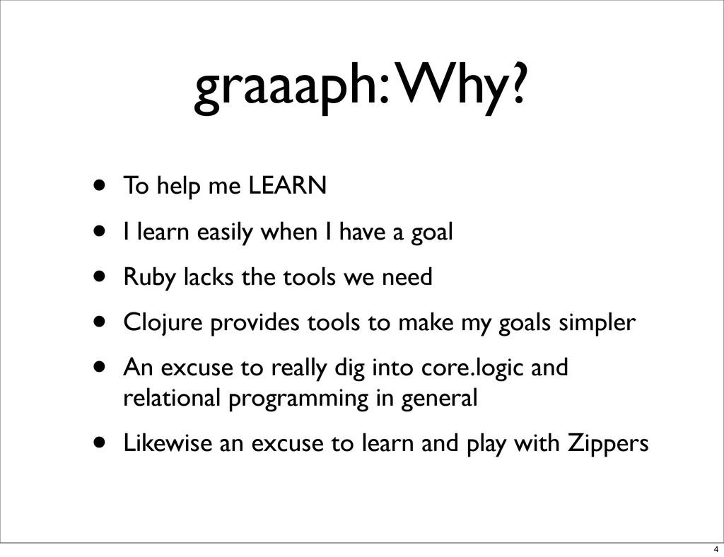 graaaph: Why? • To help me LEARN • I learn easi...