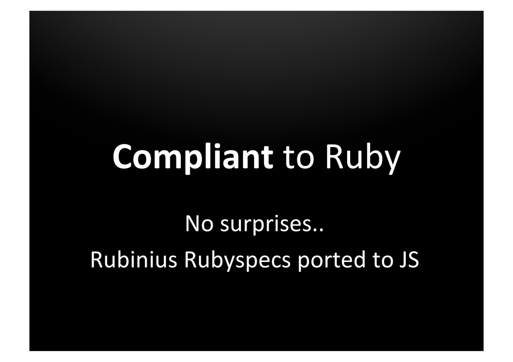 Compliant	