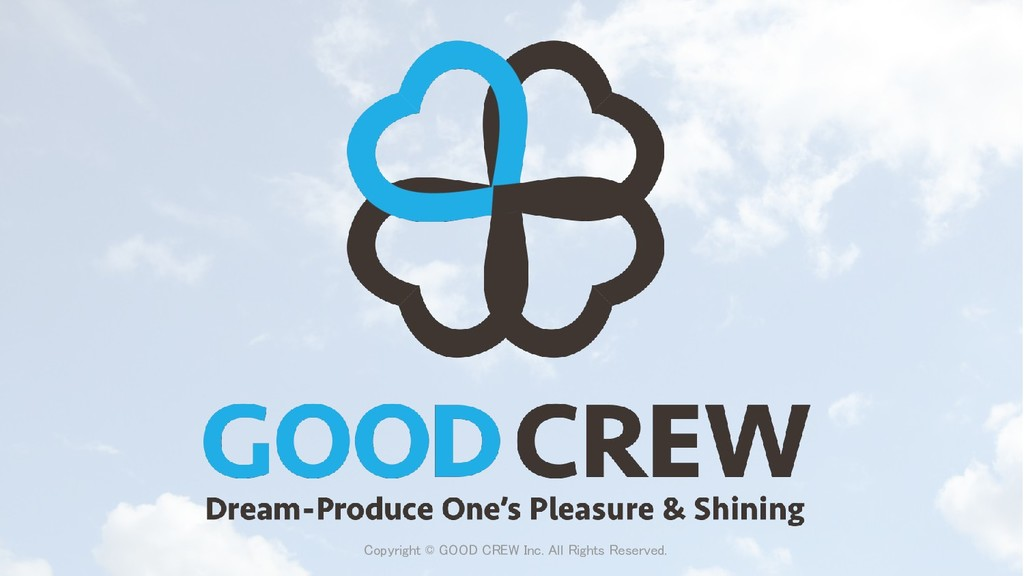 Copyright © GOOD CREW Inc. All Rights Reserved.