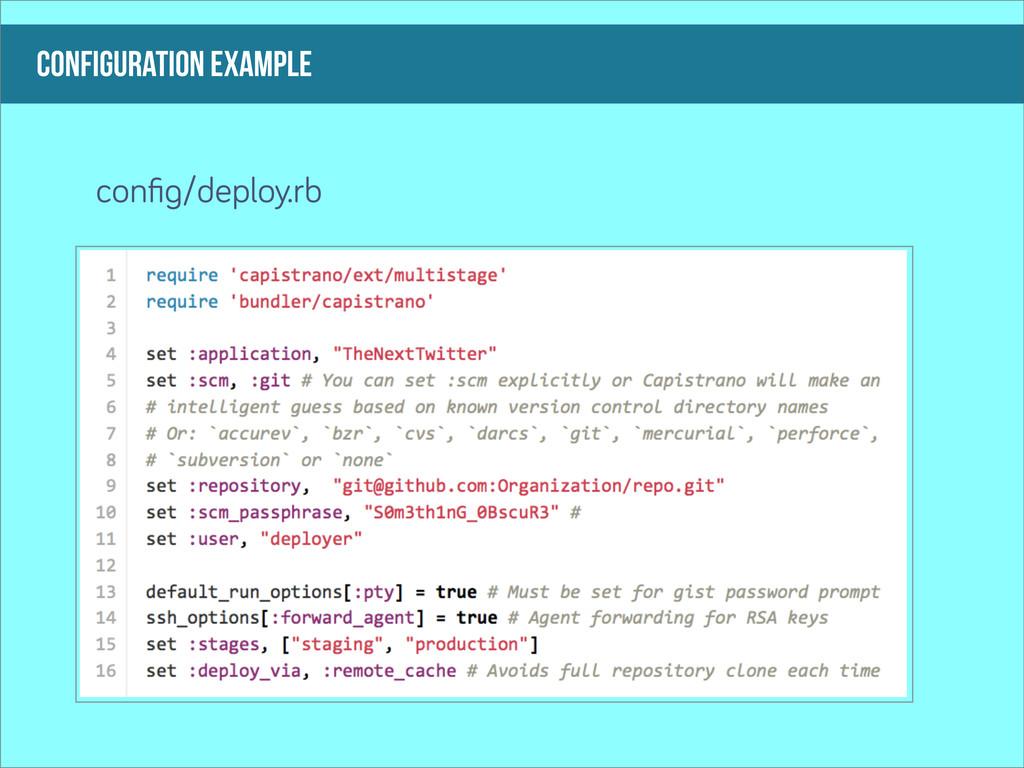 configuration example confi /deploy.rb