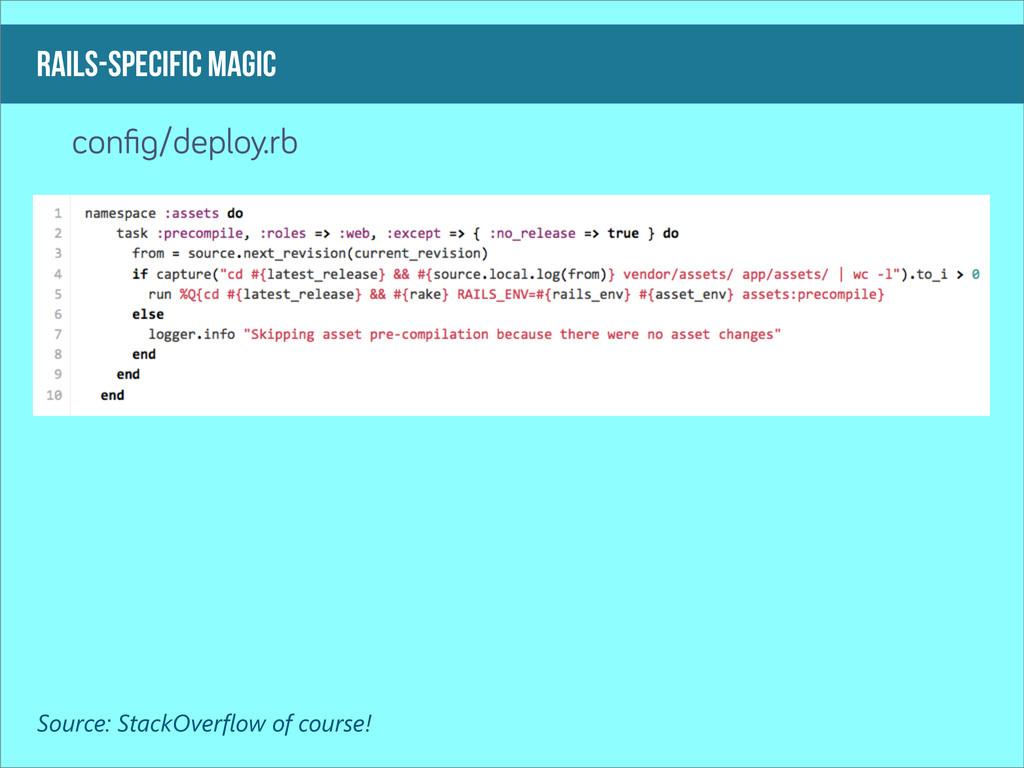 rails-specific magic confi /deploy.rb Source: St...