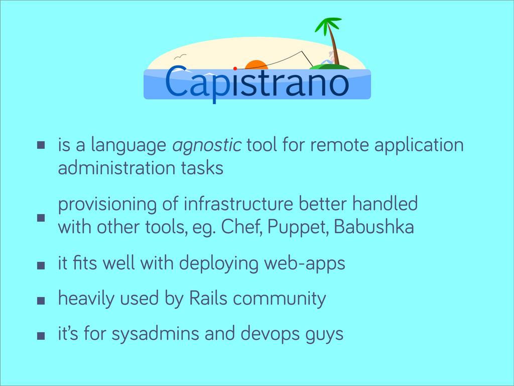 is a lan ua e agnostic tool for remote applicat...