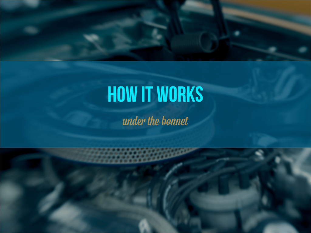 how it works unde the bo et