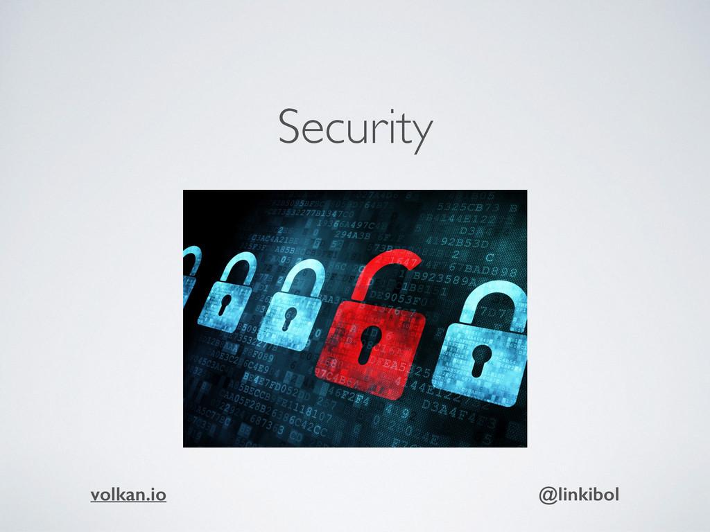 Security volkan.io @linkibol