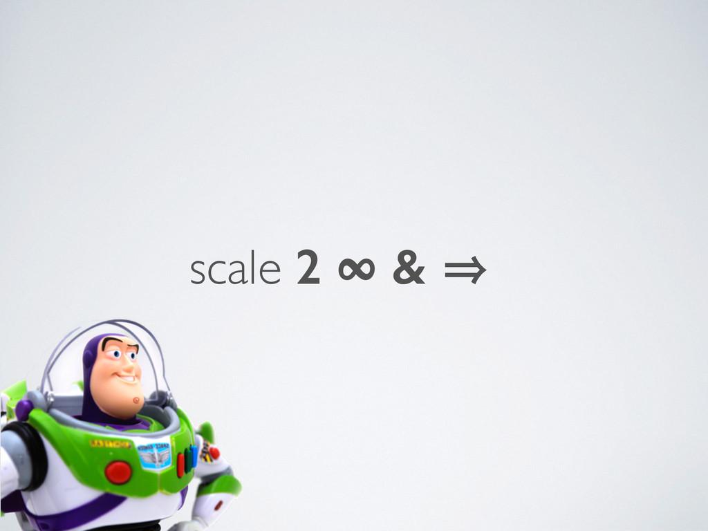 scale 2 ∞ & 㱺