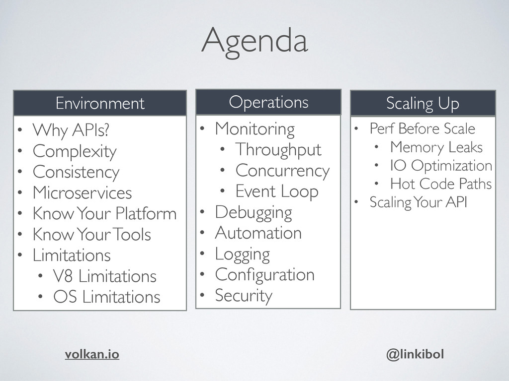 Agenda • Why APIs? • Complexity • Consistency •...