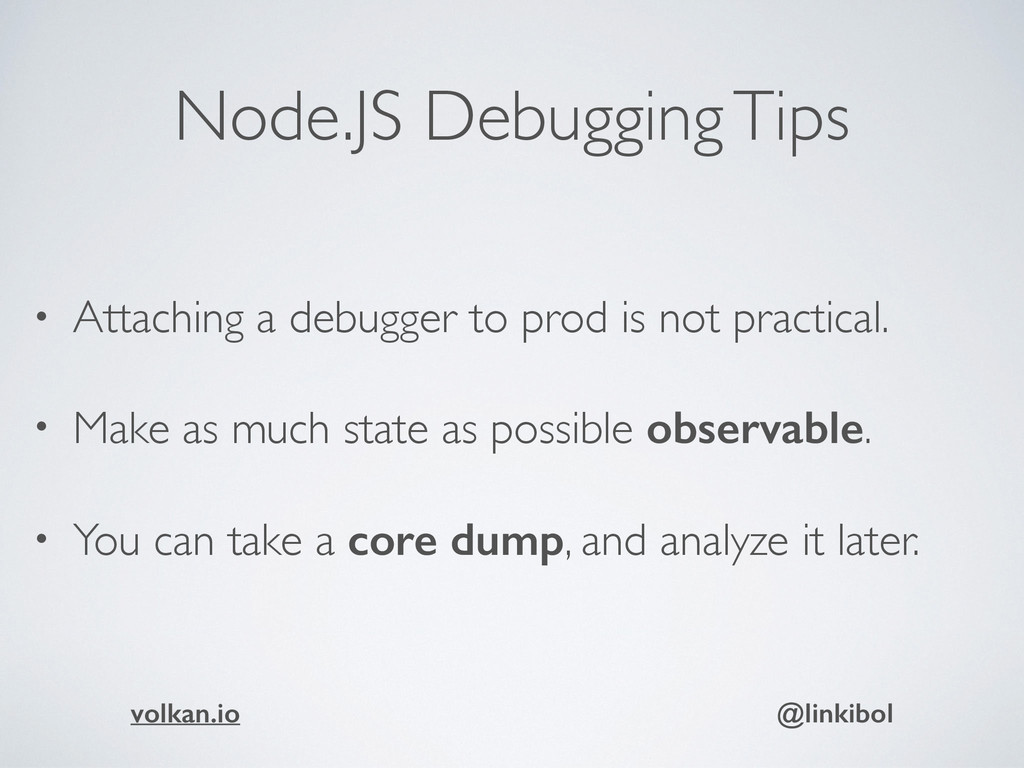 Node.JS Debugging Tips • Attaching a debugger t...