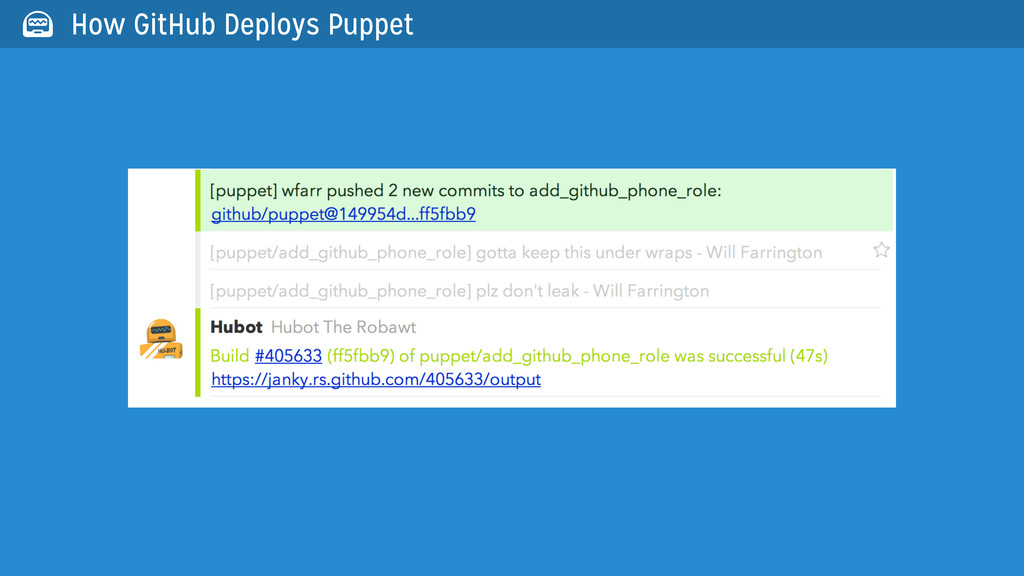  How GitHub Deploys Puppet