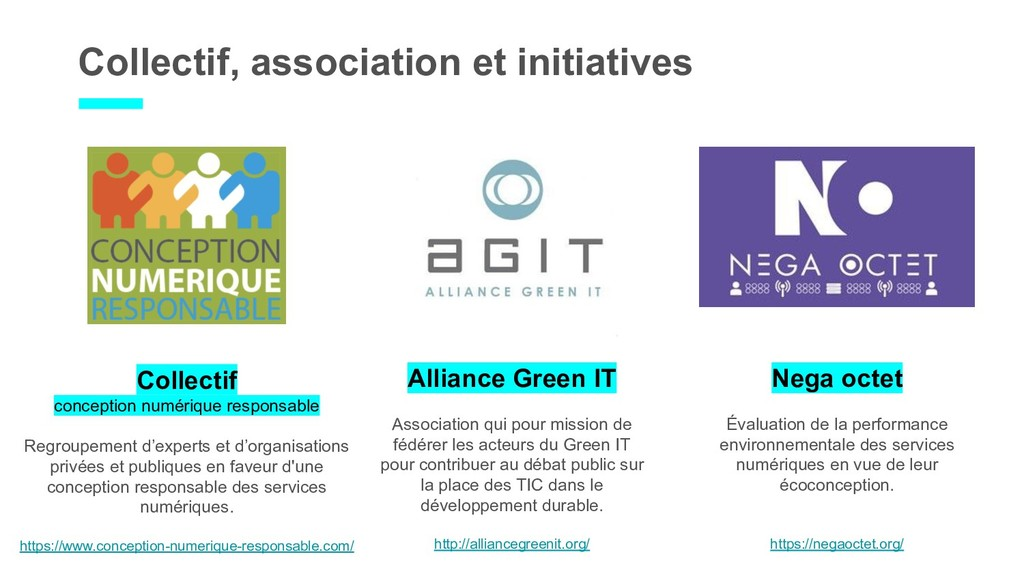 Collectif, association et initiatives Collectif...