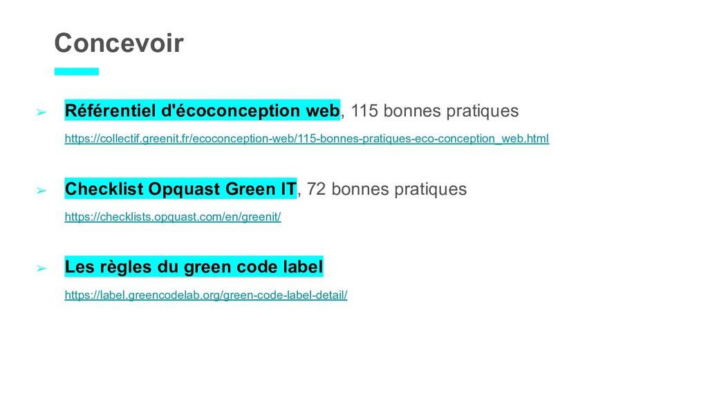 Concevoir ➢ Référentiel d'écoconception web, 11...