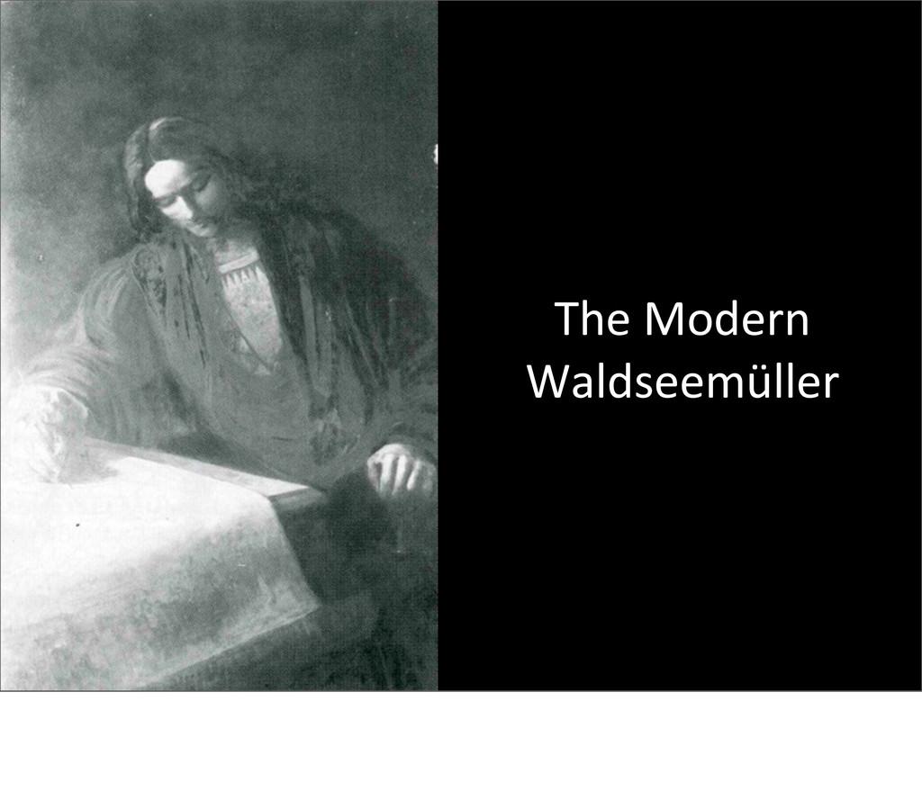 The Modern Waldseemüller I had vision...