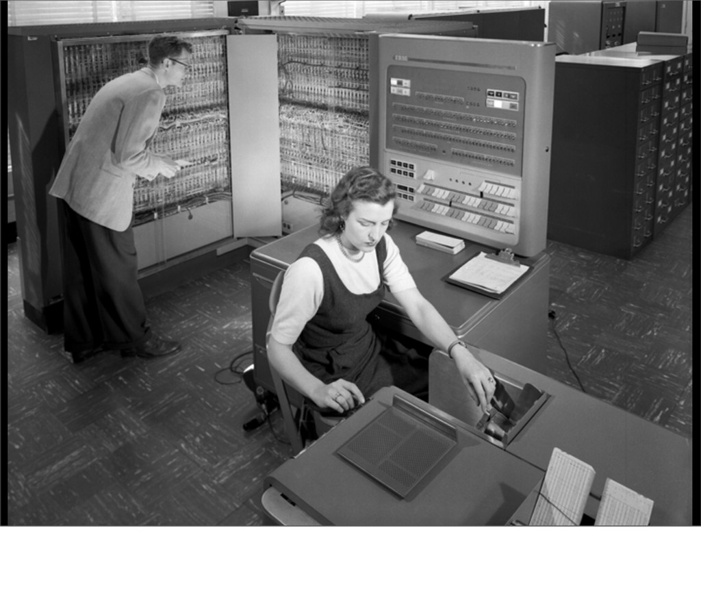 My mom was a programmer in the 60's (that isn't...