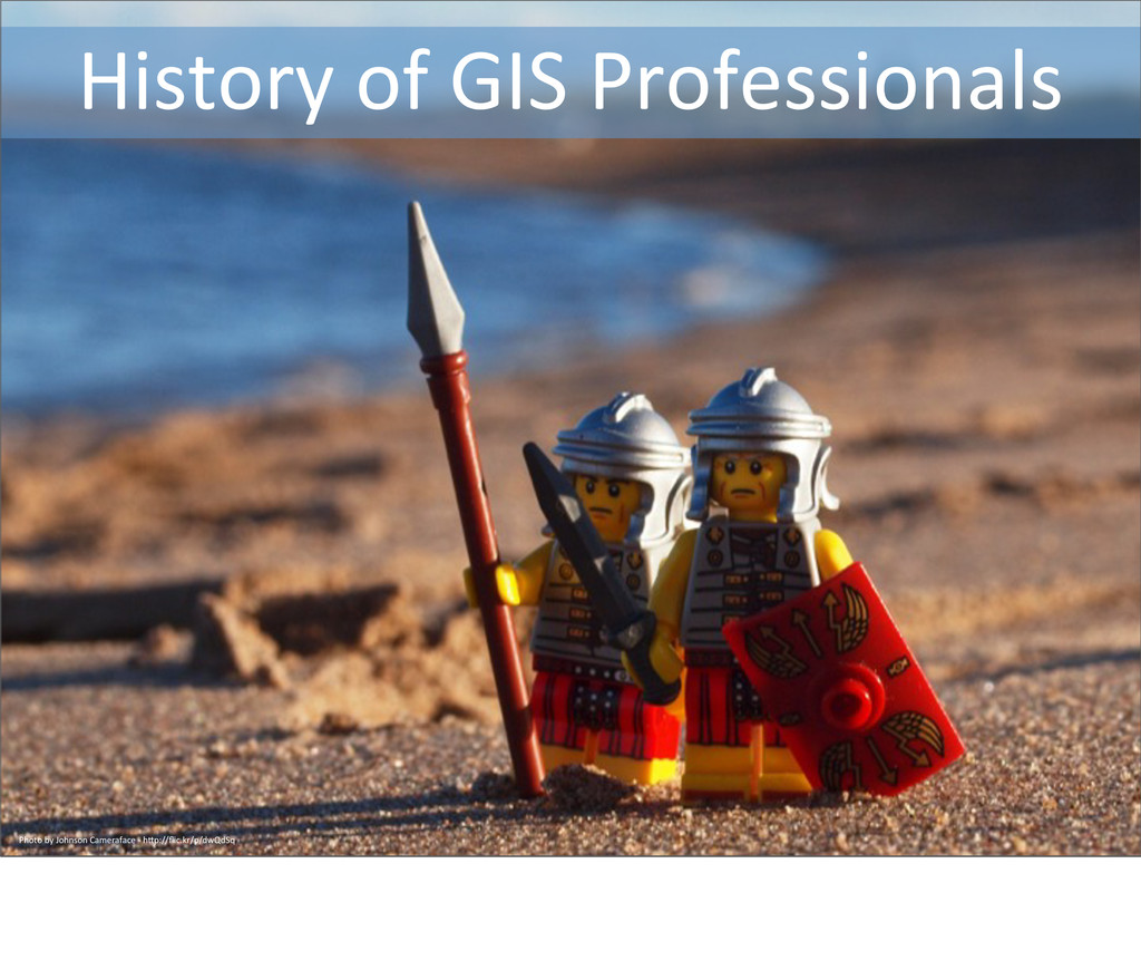 History of GIS Professionals Photo ...