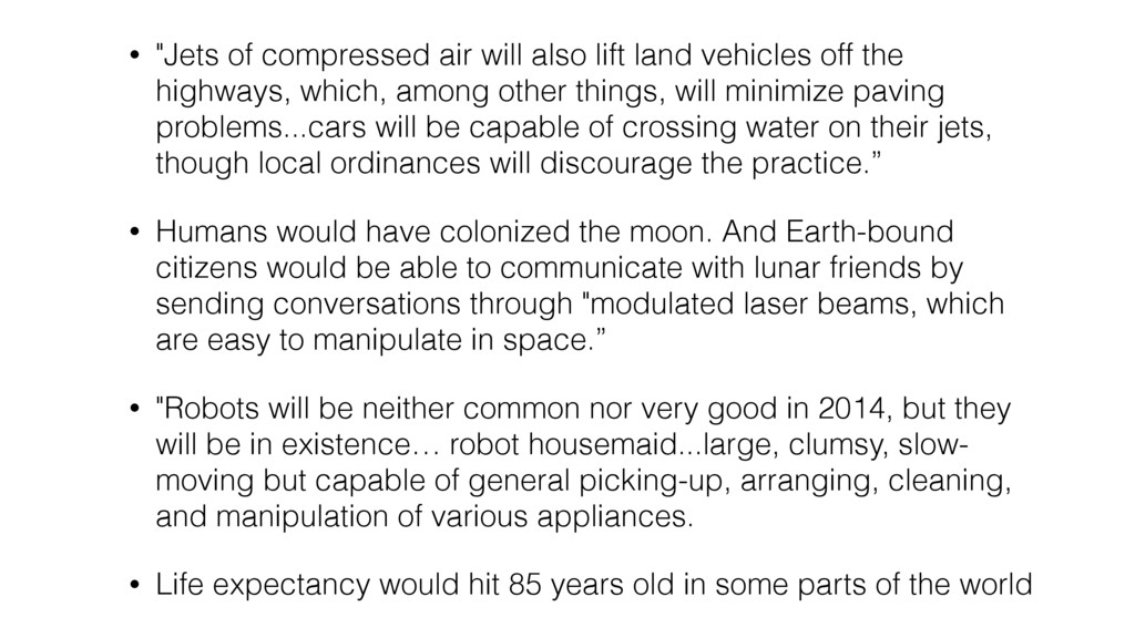 """• """"Jets of compressed air will also lift land v..."""