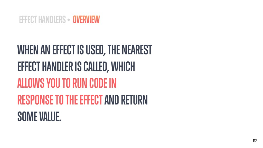 WHEN AN EFFECT IS USED, THE NEAREST EFFECT HAND...