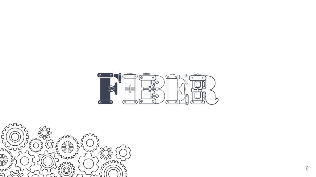 Fiber 16